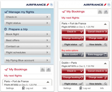 Et Voilà! Passbook Added To Air France Mobile