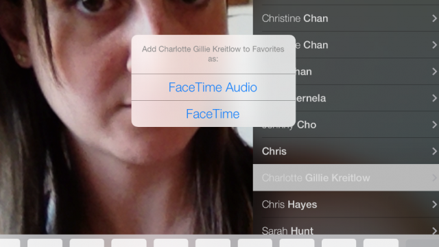 how to add someone on facetime on ipad