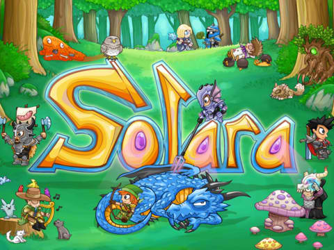 Fantasy Strategy Game Solara Goes Social With First Ever Update