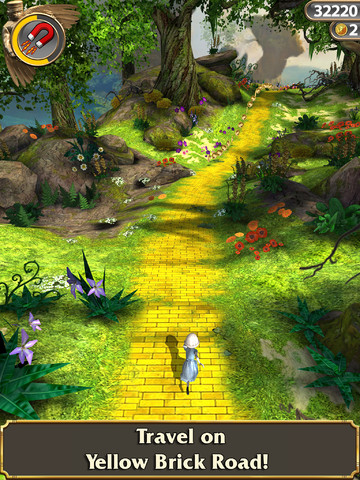 Fear Not The Black Screen Of Death Brought About By Temple Run: Oz's New Update