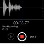 Hands-On Video: The Return Of Apple's Voice Memos App Is Making Waves In iOS 7