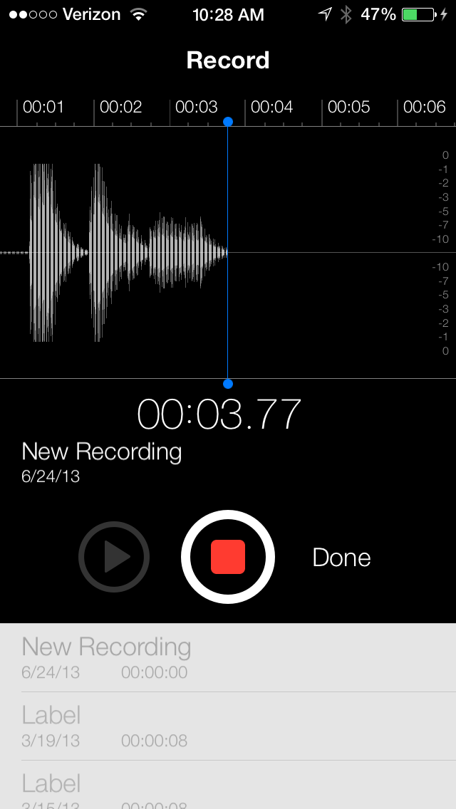 Hands-On Video: The Return Of Apple's Voice Memos App Is Making Waves In iOS 7