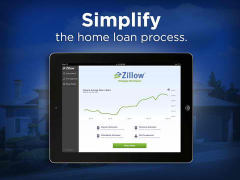 Zillow Mortgage Marketplace iOS App Accomplishes A First In Mobile Space