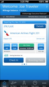 American Airlines Updates Its iOS App With Passbook Improvements