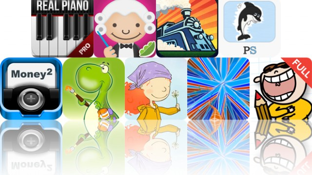 Today's Apps Gone Free: Real Piano HD, ABC Music, Jet Trains And More