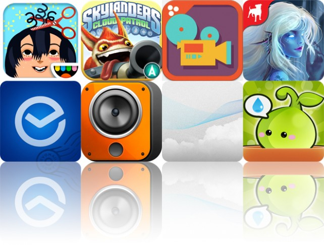 Today's Apps Gone Free: Toca Hair Salon 2, Skylanders Cloud Patrol, Easy Studio And More