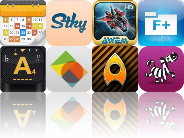 Today's Apps Gone Free: Calendars, Stky, Star Defender 3 And More