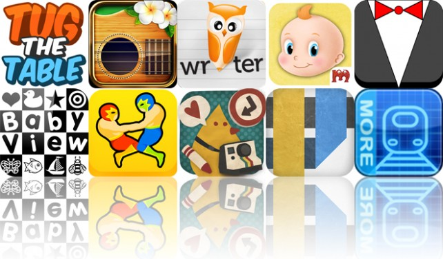 Today's Apps Gone Free: Tug The Table, Futulele, Wisdom Writer And More