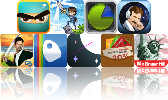 Today's Apps Gone Free: Ninja, Spell Sword, Pocket Expense And More