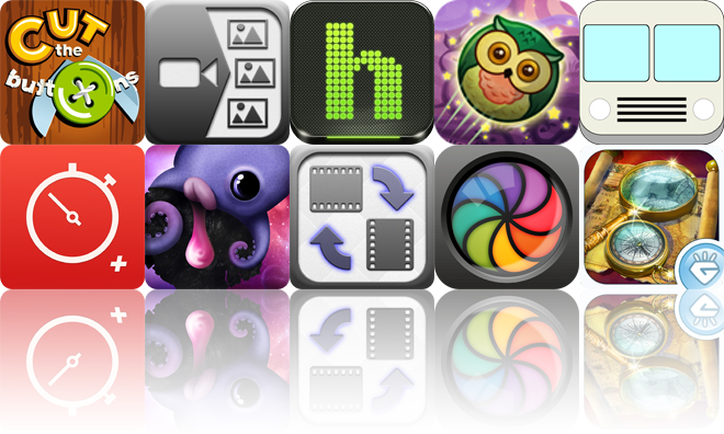 Today's Apps Gone Free: Cut The Buttons, Video 2 Photo, Habu Music And More