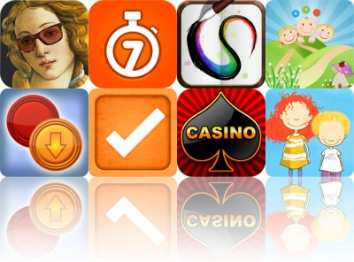 Today's Apps Gone Free: Art Race, The 7 Minute Workout, Paperless And More