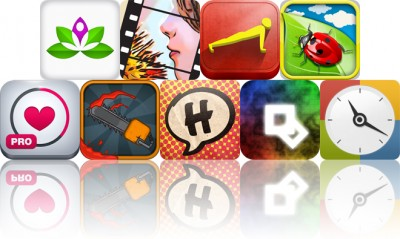 Today's Apps Gone Free: Yoga Studio, ToonCamera, Pushups 0 To 100 And More