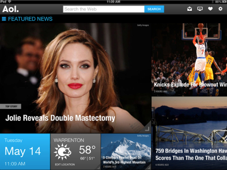 AOL: Mail, Weather, News & Video Arrives For The iPad