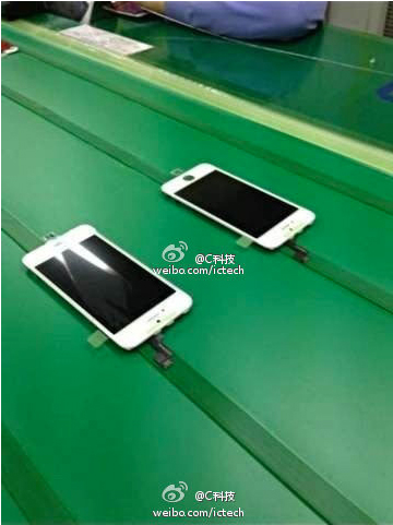 New Image Reportedly Shows An iPhone 5S Screen On The Assembly Line