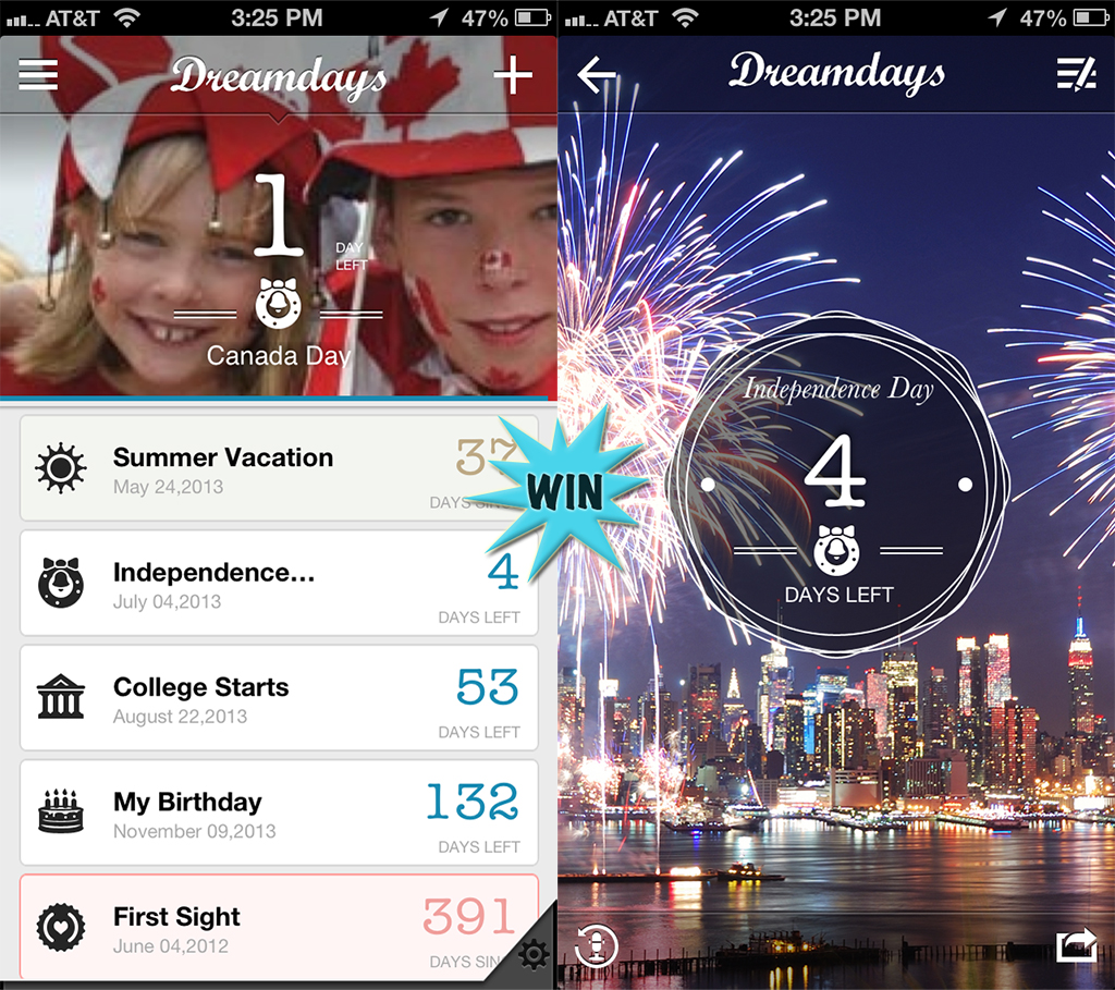 Win A Dreamdays Promo Code And Never Again Forget The Events That Matter