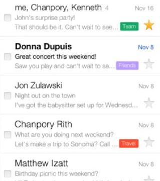 Gmail Update Brings Revamped Inbox, New Notification Options