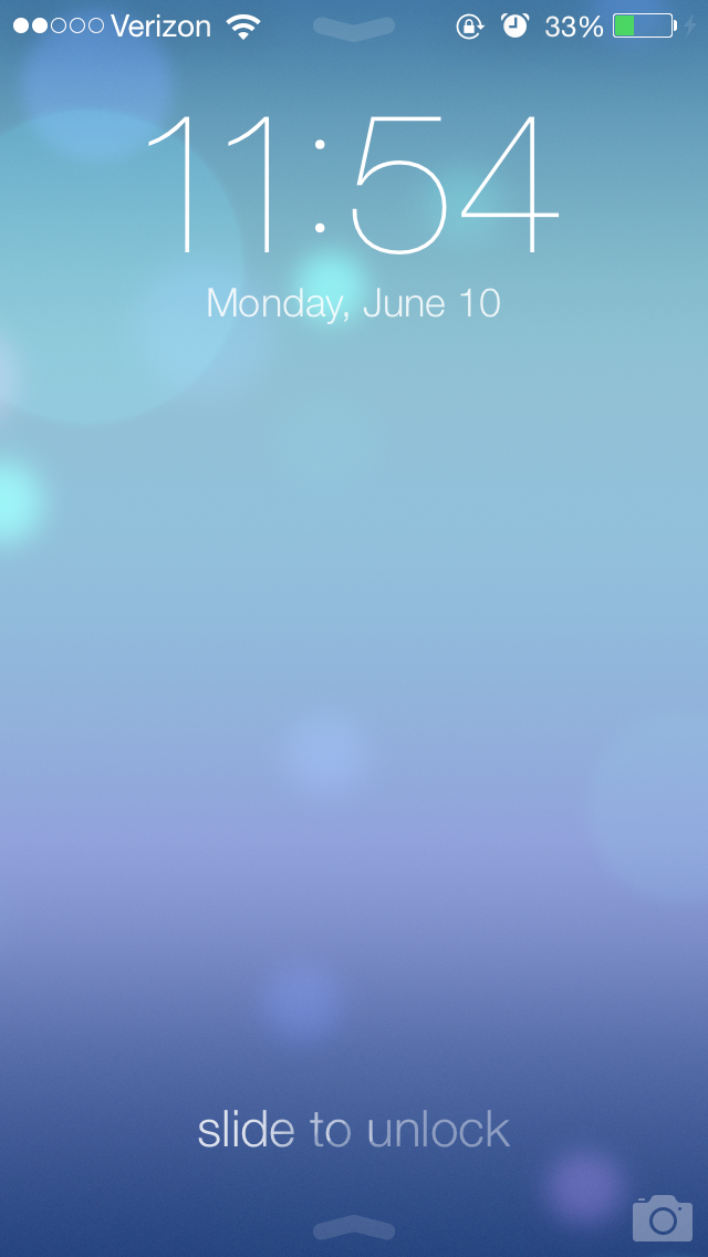 Slide To Unlock: AppAdvice Goes Hands-On With iOS 7's New Lock Screen