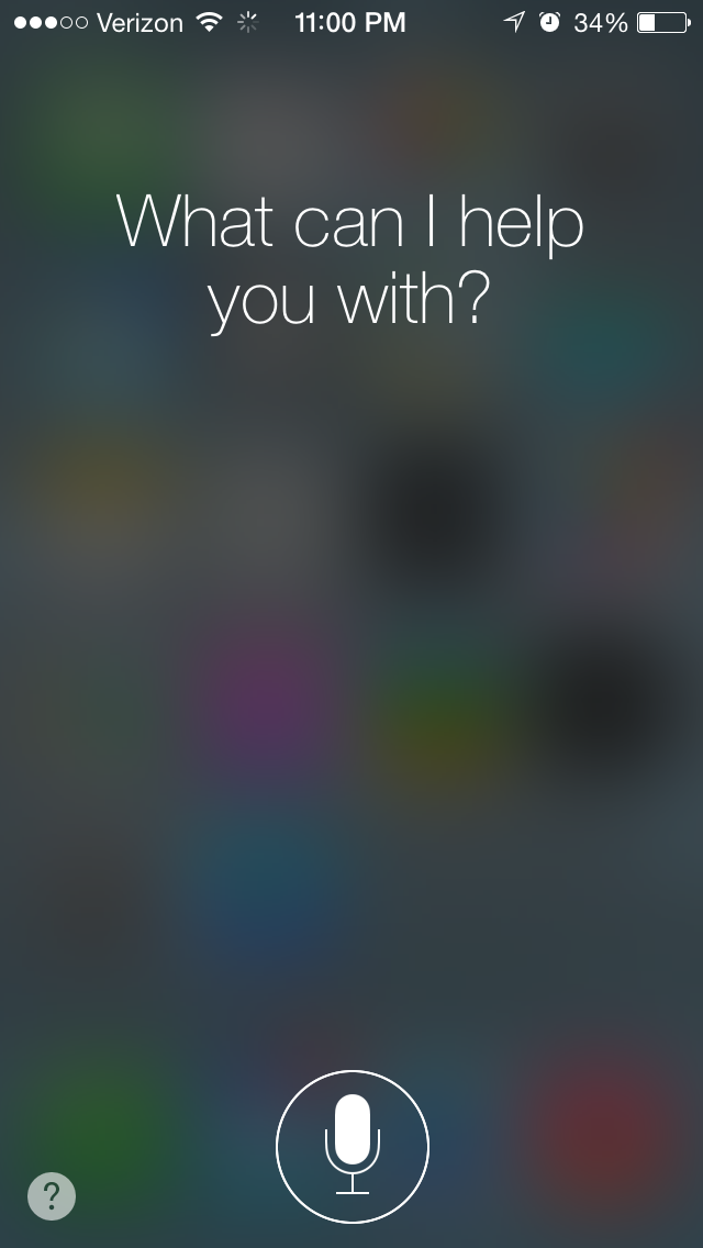 Siri, Show Me A Hands-On Preview Video Of Your New Features In iOS 7