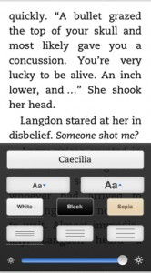 Kindle For iOS Update Brings New Line Spacing Options