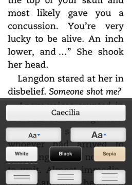 Kindle For iOS Update Brings New Line Spacing Options