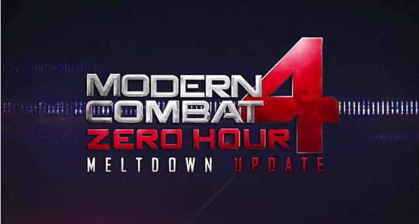 Modern Combat 4's 'Meltdown' Update Will Hit The App Store This Week