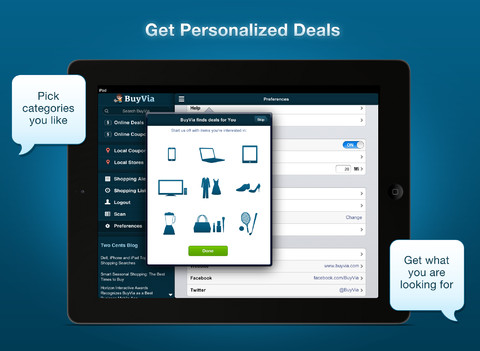Find The Best Deals Near You With BuyVia 2.0 On iPad