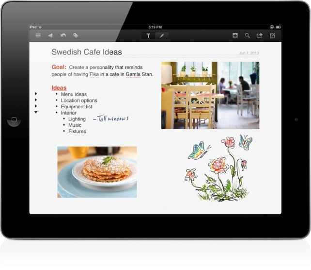 ProjectBook Is Now Called NoteSuite, A Completely New Solution For iPad