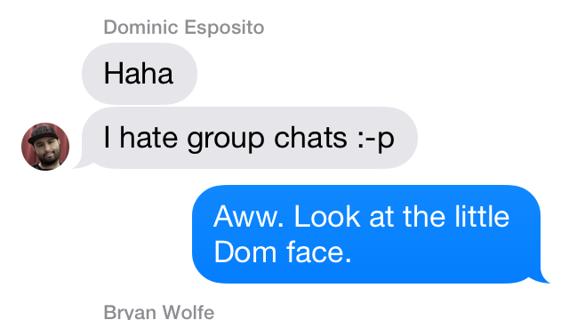 Apple's Messages App Gets Group Messaging Avatars In iOS 7 Beta 2