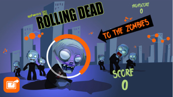 Use Sphero To Mow Down Zombies In The Rolling Dead