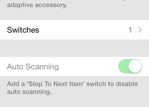 Apple Unveils New Switch Control Accessibility Feature In iOS 7 Beta 2