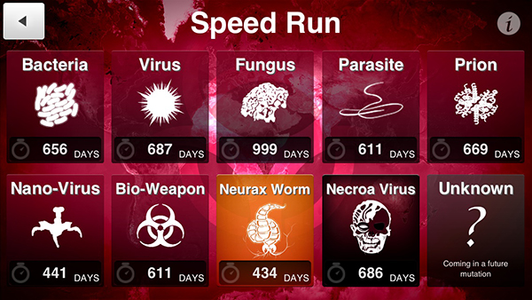 Upcoming Update To Plague Inc. Will Add Speed Run, CDC Content
