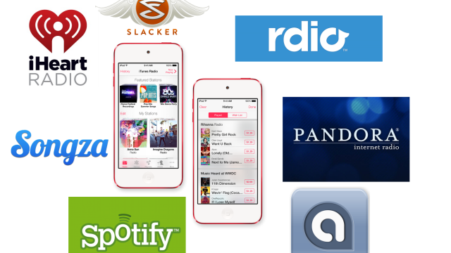 Comparing iTunes Radio To Pandora, Spotify And Other Streaming Music Services