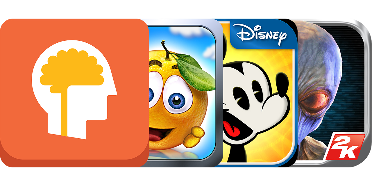 Today's Best Apps: Lumosity Mobile, Cover Orange 2, Where's My Mickey? And More