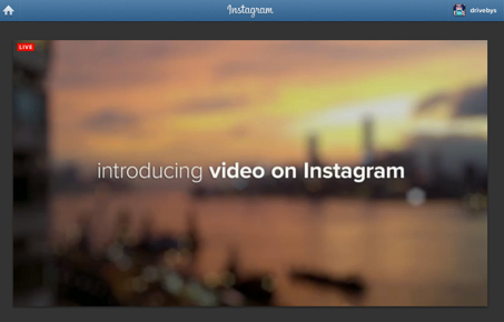 As Expected, Video For Instagram Is Announced