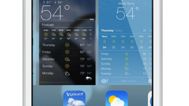 Apple's Official Weather App In iOS 7 Should Really Be Called Yahoo Weather Lite