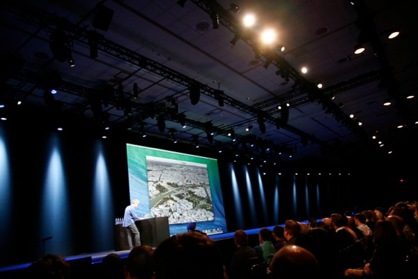 OS X Marks The Spot For Apple Maps