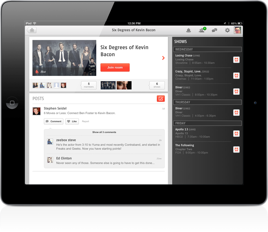 Zeebox Adds Public And Private TV Chat Rooms