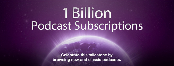 Apple Hits New Milestone As It Tops 1 Billion Podcast Subscriptions On iTunes