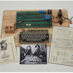 A Rare Apple I Computer Signed By Steve Wozniak Is Sold For $387,750