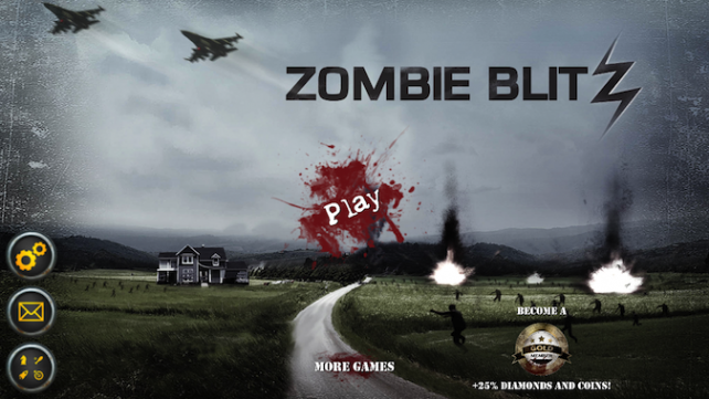 Quirky App Of The Day: Arrange Airstrikes In Zombie Blitz