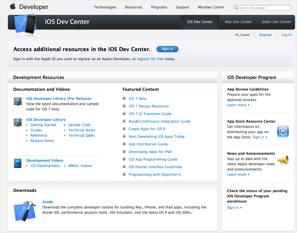 Updated: Apple's Developer Center Is Finally Back Online