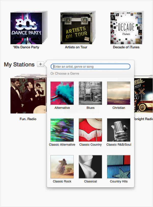 Apple Releases The First iTunes Radio Beta For OS X