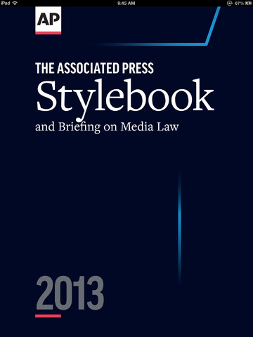 AP Stylebook 2013 Out Now On iOS, Supports Importing Of Notes From 2012 Edition