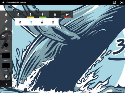 Adobe Ideas For iOS Updated With Stroke Smoothing, Direct Sharing And Stylus Support