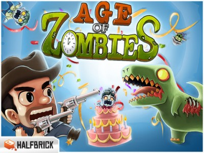 Halfbrick's Age Of Zombies Finally Updated With Retina Graphics Plus New Chapter