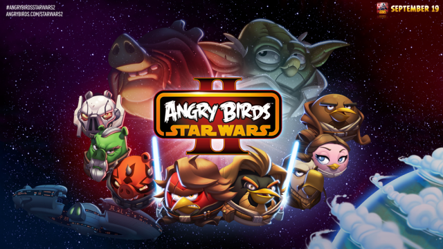 Angry Birds Star Wars II Launches Sept. 19