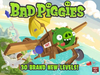 Rise And Swine! Rovio's Bad Piggies Updated With New Levels And New Power-Ups