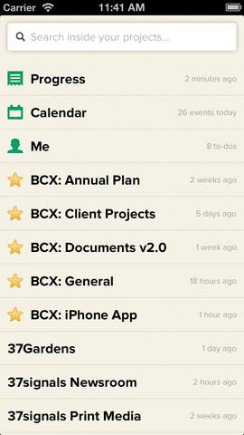 Basecamp iOS App Makes On-The-Go Project Management Easier With New Update
