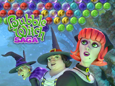 Bubble Witch Saga Conjures New Shadow Realm Levels, New Game-Changers And More