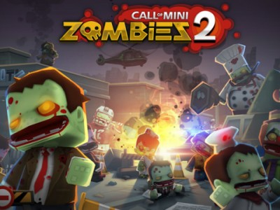 Battle The Undead With Awesome Secondary Weapons In Call Of Mini: Zombies 2